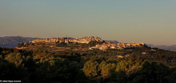 Horta des del coll d'en Sabater.Horta, Terra Alta, Tarragona