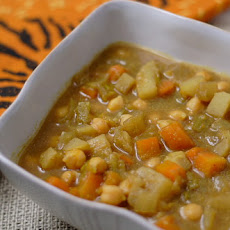 Chickpea and Turnip Stew with Ethiopian Spices