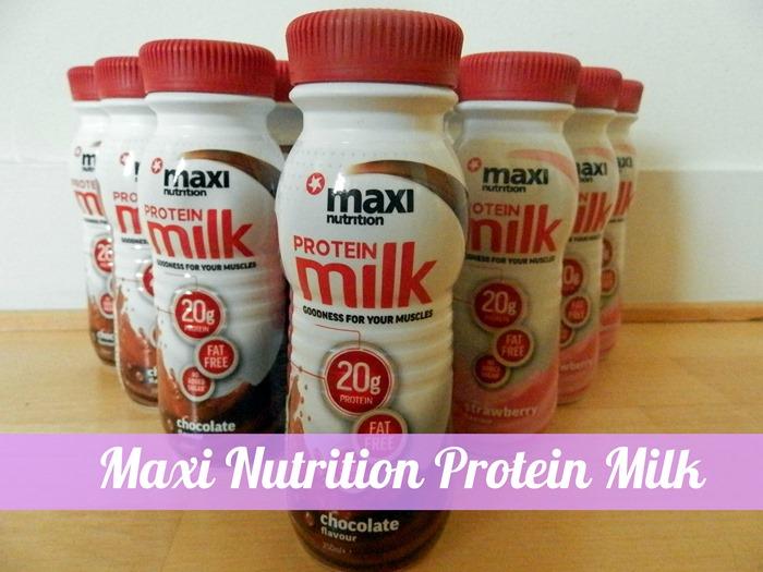 maxinutrition protein milk 2