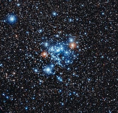 aglomerado estelar NGC 3766