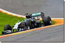Rosberg ha conquistato la pole del gran premio del Belgio 2014