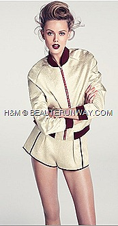 H&M Spring Summer 2012 Womens Collection Jacket dress shorts