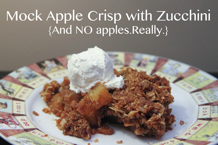 Apple Crisp with Zucchini