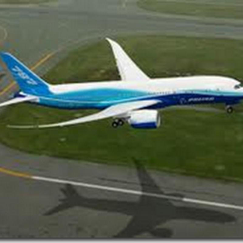 Boeing 787 - Akhirnya mendarat di Jepun