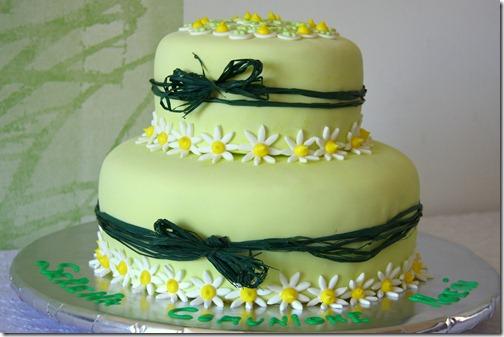 torta bomboniera margherite