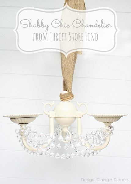 Shabby-Chic-Chandelier-Makeover-by-Design-Dining- -Diapers