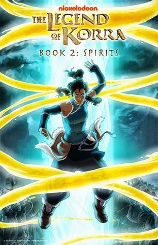 korra book 2 spirits poster