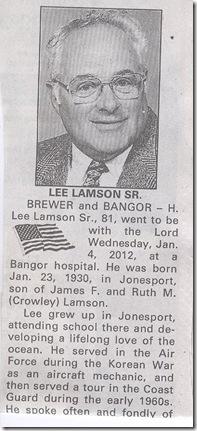 Lee Lamson