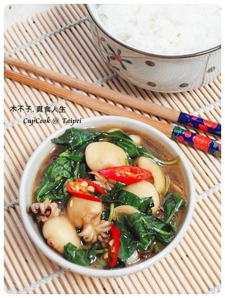 三杯小花枝 Squid (2)