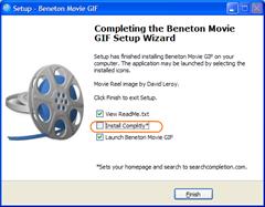 Beneton Movie GIF - opções instalação
