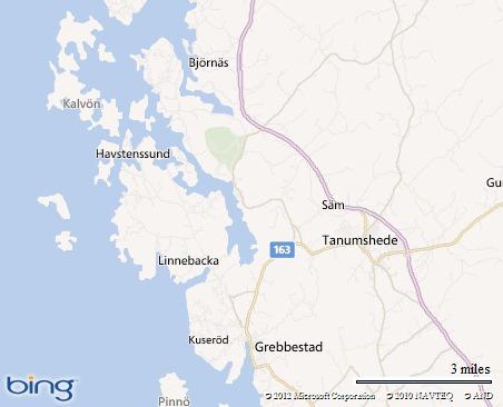Ute i havsbandet ligger Havstenssund med Tanumshede och Grebbestad alldeles söderut. Om sommaren ett riktigt paradis med havets E6:a precis utanför.