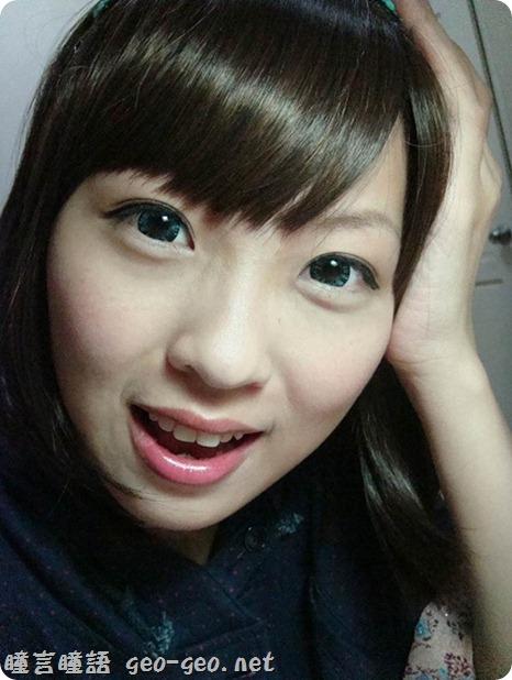 小堡分享-MIMO鑽石甜心藍&黑・・★有如在眼睛中鑲了一顆閃爍的藍寶石★・・