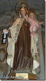 Virgen del Carmen - Basílica de Javier