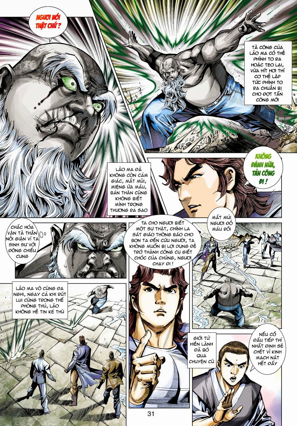 Tân Tác Long Hổ Môn chap 445 - Trang 31