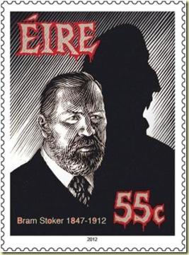 Bram Stoker stamp