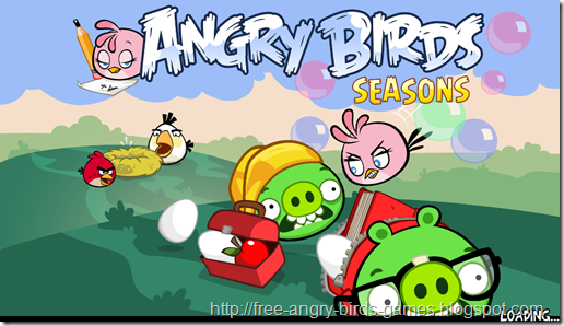 Free Download Angry Birds Seasons v2.5.0 PC Game