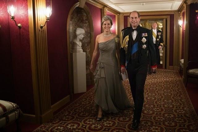 Eduardo de Inglaterra  y su mujer, la condesa Sophie de Wessex