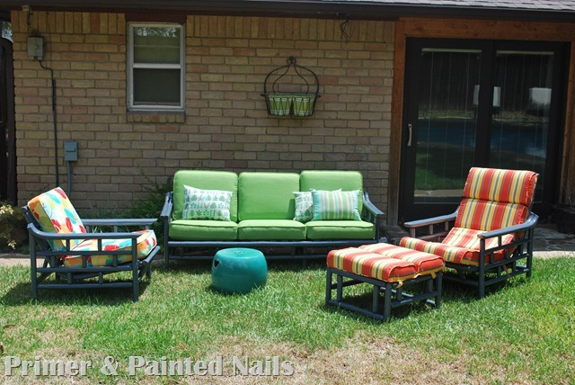 Bamboo Furniture After - Yard