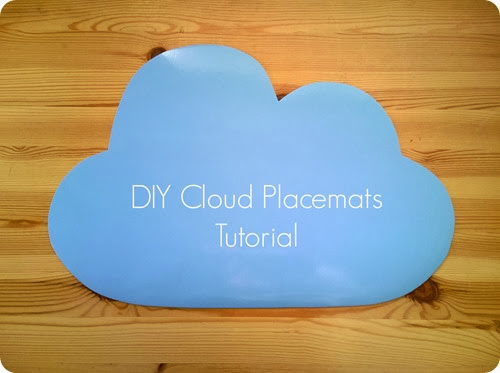 DIY Cloud Placemats Tutorial