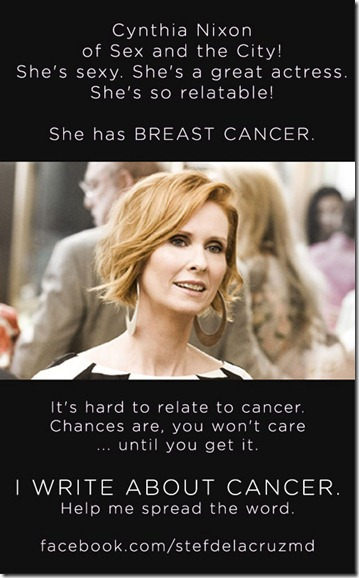 Cynthia Nixon Has Cancer