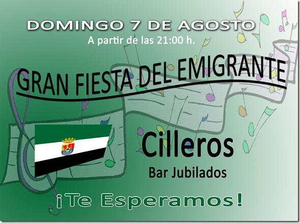 fiesta emigrante