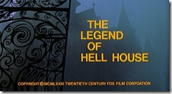 The Legend of Hell House Title