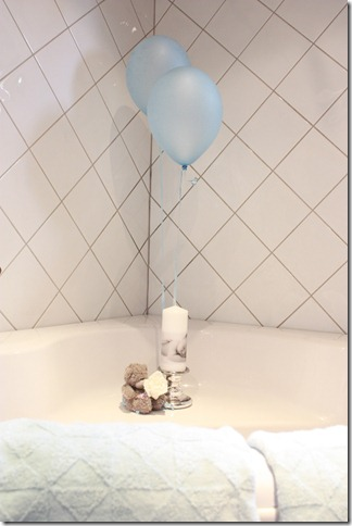barnedåp inspirasjon baby gutt blå borddekking blomster IMG_2874