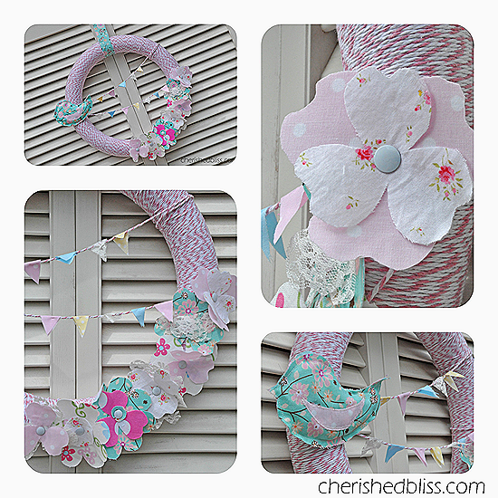 Spring Wreath Collage copy