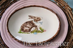 Rustic Rabbits Easter Tablescape - The Tablescaper14