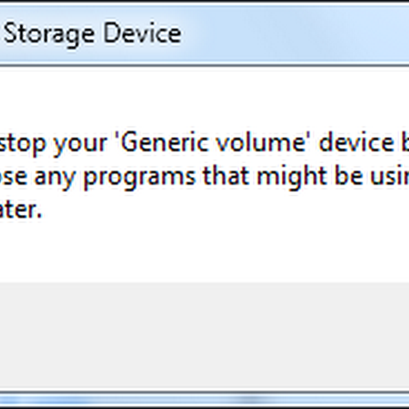 Dev Eject Identifies Why Windows Cannot Safely Remove the USB Drive and How You Can