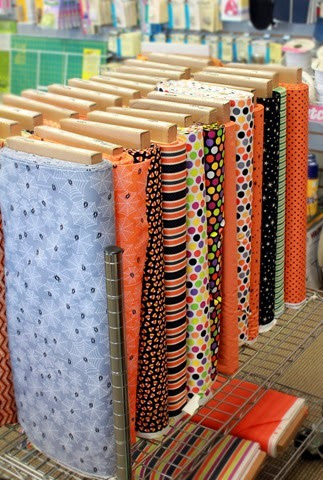 Halloween Fabrics at the Fabric Mill