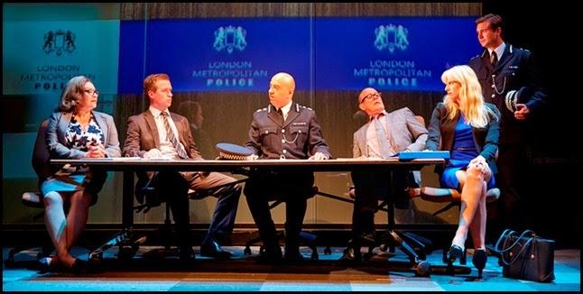 Great Britain play Richard Bean Met Police