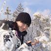 А у елки - снежные иголки
