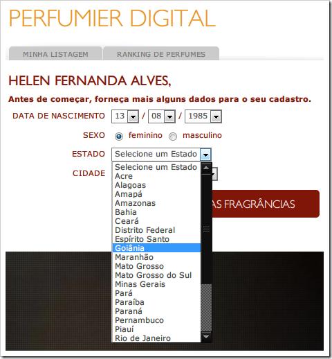 Perfumier Digital