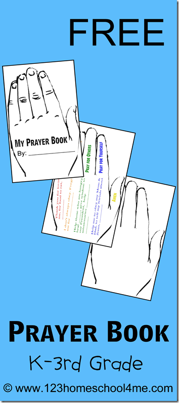 Free Printable Prayer Book for Kids