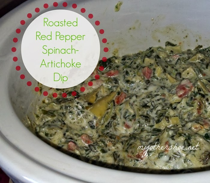 My Other Shoe: A Twist on Spinach Artichoke Dip!