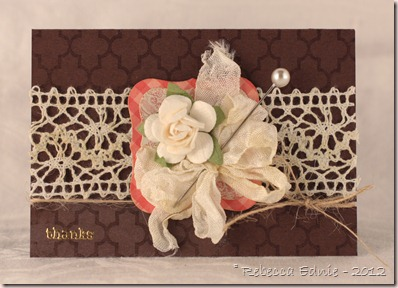 floral gift card holder unscr