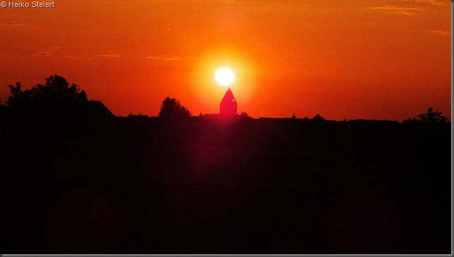 Sonnenuntergang orange 2