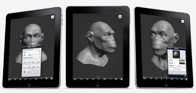 iPad3D | forger + monogocoro