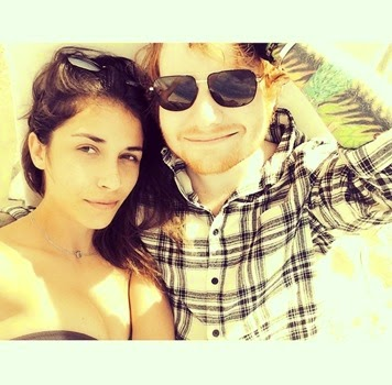 Ed Sheeran Girlfriend Athina Andrelos 2