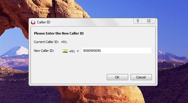 voxox caller id dialog