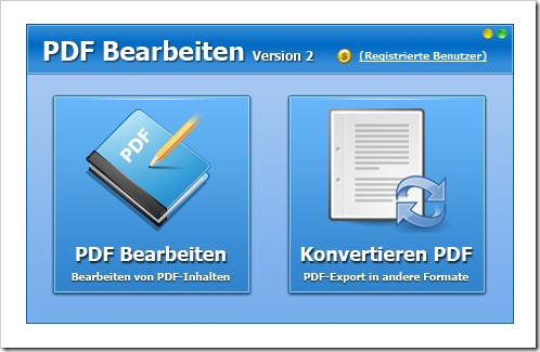 PDF Bearbeiten - Programm für Windows