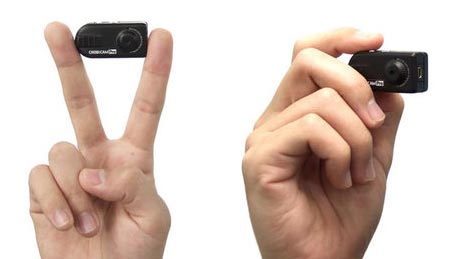 A Chobi Cam Pro é a menor filmadora em alta resolução HD do Mundo e custo somente US$ 76 dólares.