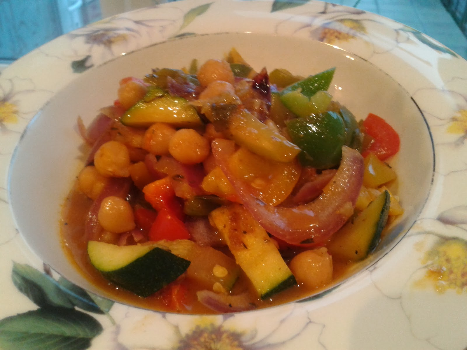 The Vegan Nigerian: CHICKPEA AND VEGETABLE STEW