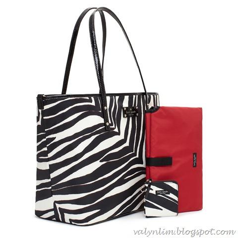 cape mountain_harmony baby bag (black,cream) S