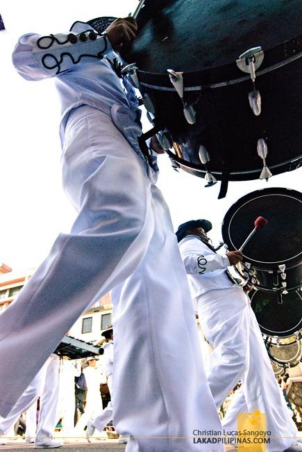 Drum Bugle at Baguio's Panagbenga Festival