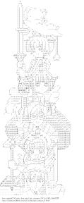 [AA]ケルベロス & 李小狼 & 大道寺知世 & 月城雪兎 & 木之本桜 & 木之本桃矢 (カードキャプターさくら)