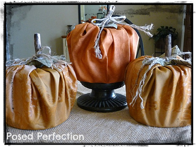 Fabric Pumpkins1