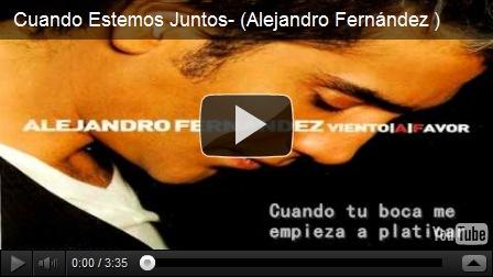 Alejandro fern ndez brasil alejandro fern ndez el monstruo for Alejandro fernandez en el jardin lyrics