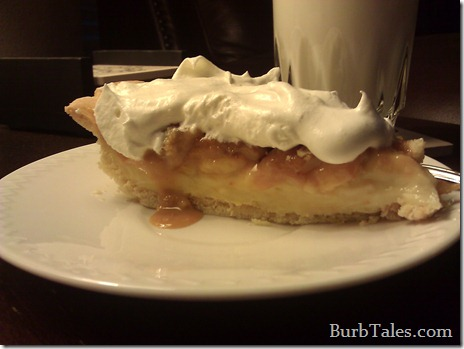 Dulce de leche banana cream pie - the easier way